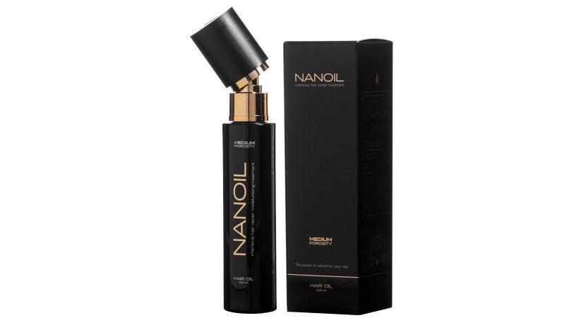 Nanoil - niezwykły olejek do włosów w trzech wersjach